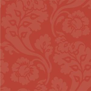 WM2545 Williamsburg Pembroke Sure Strip Wallpaper Red