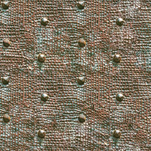 JP30904 Journeys Raleigh Hammered Metal Wallpaper Copper
