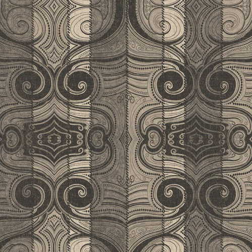 MW9161 Carey Lind Menswear Wave Length Sure Strip Wallpaper Soot