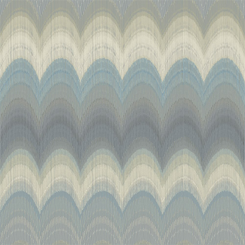 2671-22405 Brewster Kenneth James Azmaara August Wave Wallpaper Slate