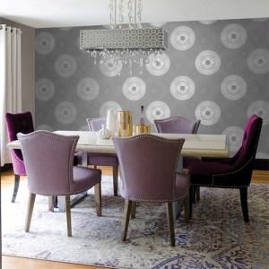 2671-22449 Brewster Kenneth James Azmaara Eternity Sparkle Wallpaper Roomset