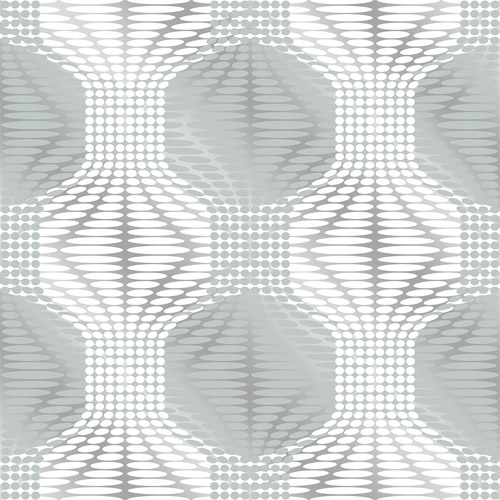 2697-22629 Brewster Wallcoverings Geometrie Optic Geometric Wallpaper Blue