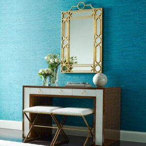 York Wallcoverings Dazzling Dimensions Dazzling Wallpaper Roomset