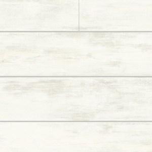 MH1560 York Wallcoverings Joanna Gaines Magnolia Home Shiplap Wallpaper White