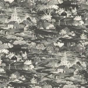 MH1500 York Wallcoverings Joanna Gaines Magnolia Home Homestead Wallpaper Gray