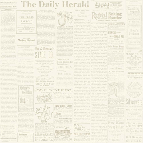 MH1509 York Wallcoverings Joann Gaines Magnolia Home The Daily Wallpaper Beige
