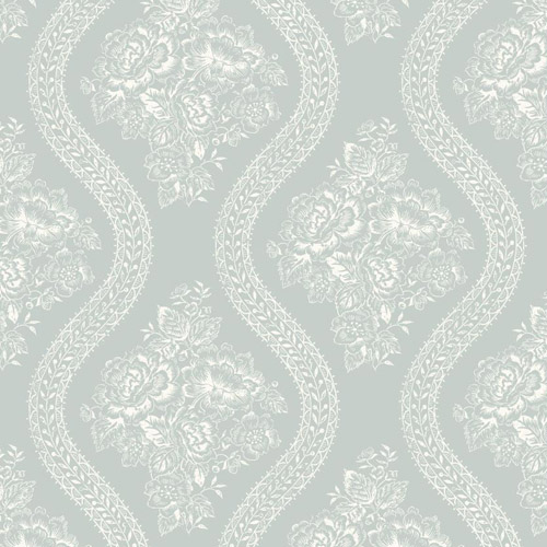 Joanna Gaines Coverlet Floral Wallpaper From Magnolia Home