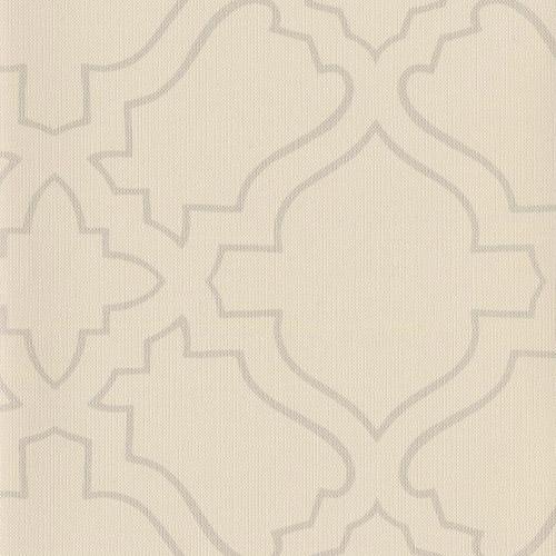 RRD7253 York Wallcoverings Ronald Redding Atelier Arabesqe Wallpaper Cream