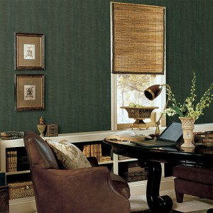 Patton Wallcoverings Natural FX Snakeskin Wallpaper Roomset
