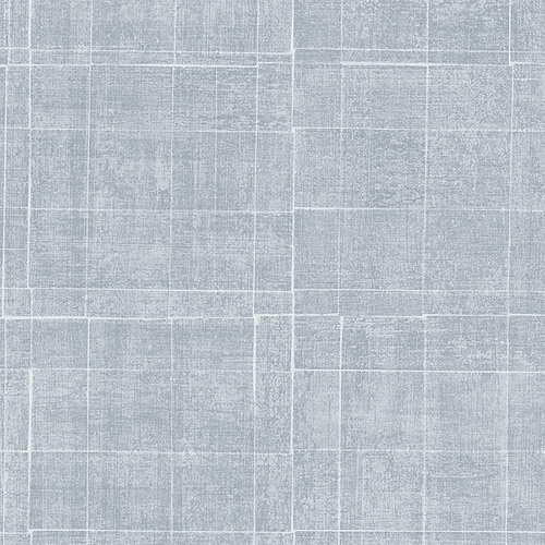 G67458 Patton Wallcoverings Natural FX Brushed Mosaic Wallpaper Pale Blue