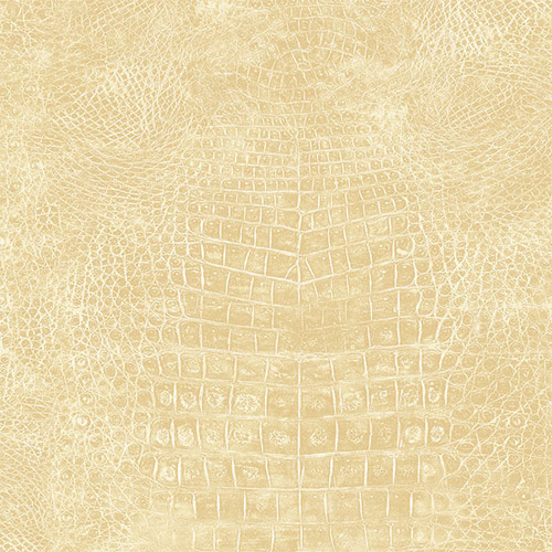 G67501 Patton Wallcoverings Nautral FX Crocodile Skin Wallpaper Cream