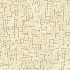 MR643724 York Wallcoverings Antonina Vella Mixed Metals Butler Stone Wallpaper Beige Gold