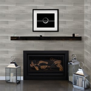 Brewster Wallcoverings Eclipse Titan Wood Wallpaper Roomset