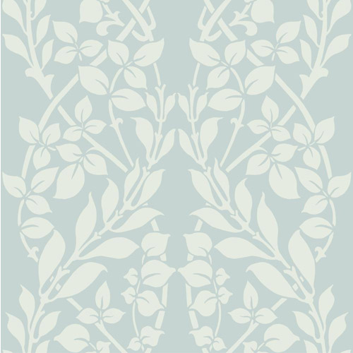 CD4025 York Wallcoverings Candice Olson Decadence Botanica Wallpaper Glacier