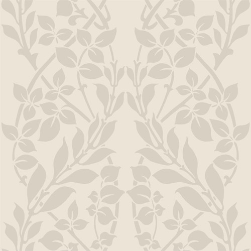 CD4028 York Wallcoverings Candice Olson Decadence Botanica Wallpaper Beige