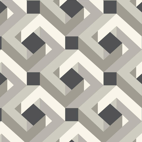 CD4067 York Wallcoverings Candice Olson Decadence Network Wallpaper Taupe