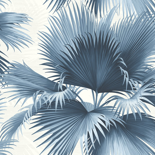 PS40102 Brewster Wallcoverings Kenneth James Palm Springs Endless Summer Wallpaper Blue