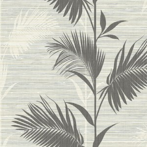 PS40300 Brewster Wallcoverings Kenneth James Palm Springs Away On Holiday Wallpaper Black