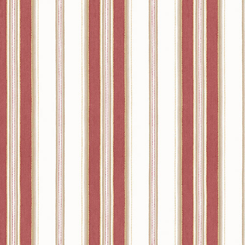 SD36107 Patton Wallcoverings Stripes and Damasks 3 Classic Stripe Wallpaper Red
