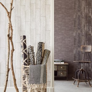 Brewster Wallcovering Eijffinger Resource Esmee Wood Wallpaper Roomset