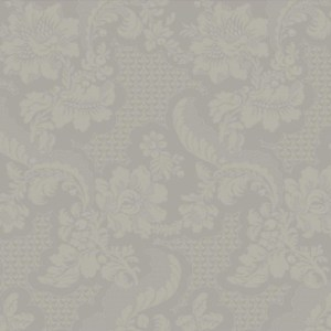GS6256 York Wallcoverings Williamsburg 3 Tazewell Damask Wallpaper Gray