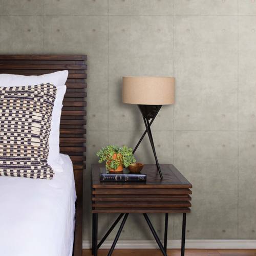 Joanna Gaines Concrete Wallpaper From Magnolia Home By York