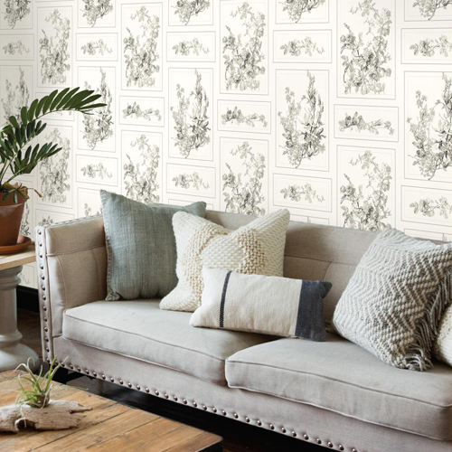 Joanna Gaines The Magnolia Wallpaper from Magnolia Home by ...