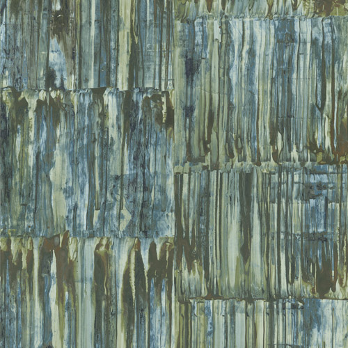 2540-24062 Brewster Wallcoverings A Street Prints Restored Patina Panels Wallpaper Blue