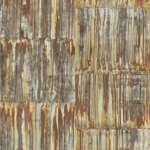2540-24063 Brewster Wallcoverings A Street Prints Restored Patina Panels Wallpaper Copper