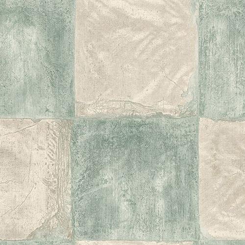 MC71304 Seabrook Wallcoverings Majorca Corsica Tiles Wallpaper Turquoise