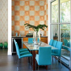Seabrook Wallcoverings Majorca Corsica Tiles Wallpaper Roomset