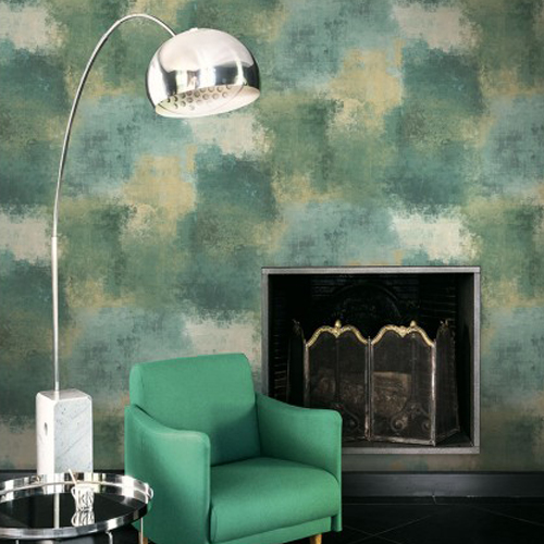 Seabrook Wallcoverings Majorca Cyprus Abstract Wallpaper Roomset