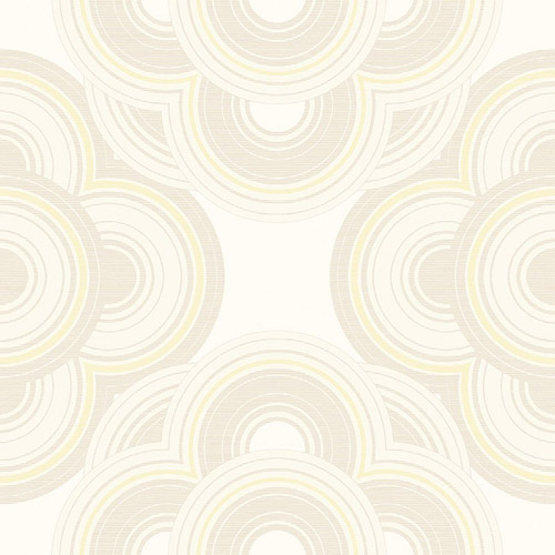 RL60010 Seabrook Wallcoverings Retro Living Gidget Wallpaper Pearl