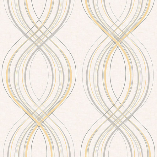 RL60205 Seabrook Wallcoverings Retro Living Jeannie Wallpaper Silver