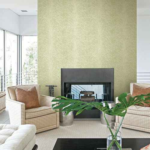 Seabrook Wallcoverings Montage Eaglecrest Wallpaper Roomset