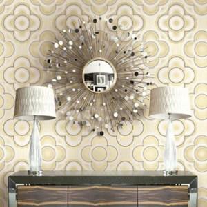 Seabrook Wallcoverings Retro Living Gidget Wallpaper Roomset