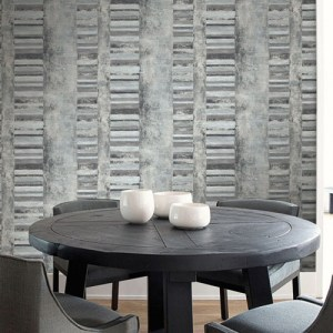 Seabrook Deisgns Metalworks Judson Wallpaper Room Setting