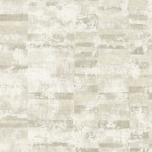 MW30405 Seabrook Designs Metalworks Gutenberg Wallpaper Gray
