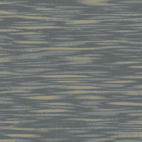 TE10220 Seabrook Wallcoverings Jupiter Haze Striped Wallpaper Charcoal