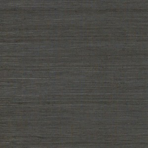 VG4409MH Charcoal Multi Grass Wallpaper Joanna Gaines Magnolia Home by York Wallcoverings