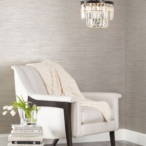 York Wallcoverings Candice Olson Natural Splendor Lombard Wallpaper Room Setting