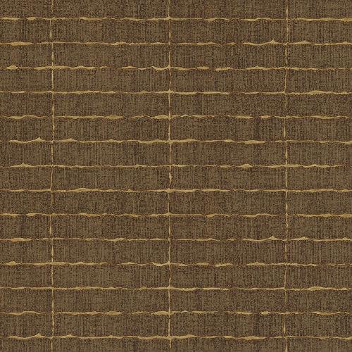 376070 Brewster Wallcovering Eijffinger Siroc Brick Batna Wallpaper Brown
