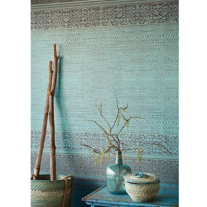 Brewster Wallcoverings Eijffinger Siroc Tapestry Mural Room Setting