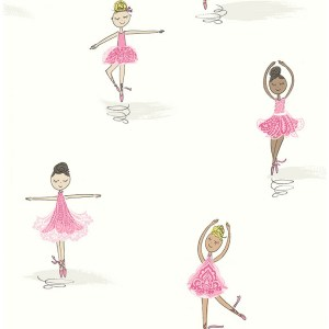 Ballerina Wallpaper From Playdate Adventure By Seabrook