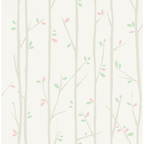 FA41205 Seabrook Wallcoverings Playdate Adventure Tree Top Wallpaper Green