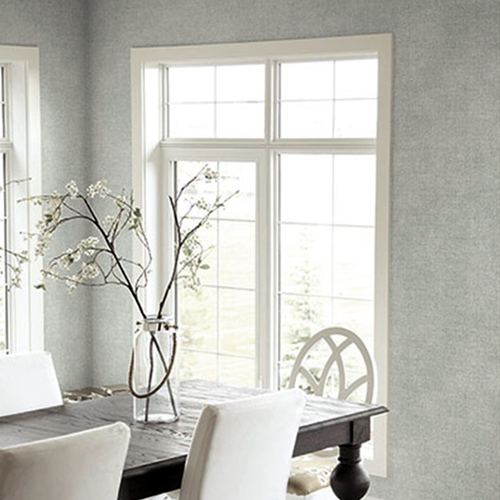 Seabrook Wallcoverings Texture Anthology Etten Twill Wallpaper Room Setting
