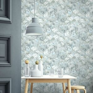 Seabrook Wallcoverings French Impressionist Meadows Wallpaper Room Setting