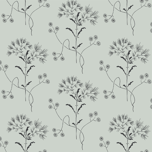 ME1517 York Wallcoverings Joanna Gaines Magnolia Home 2 Wildflower Wallpaper Putty