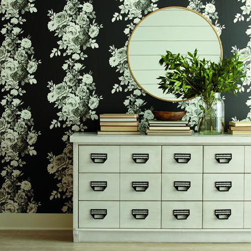 Joanna Gaines Tea Rose Wallpaper By York Arlington TX