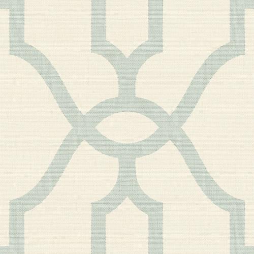 ME1553 York Wallcovering Joanna Gaines Magnolia Home 2 Woven Trellis Wallpaper Aqua